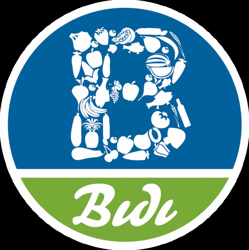 Bidi Früchte Logo. Unser Partner im Grossmarkt Düsseldorf.