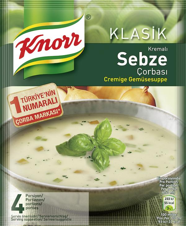 Knorr Cremige Gemüsesuppe 250ml