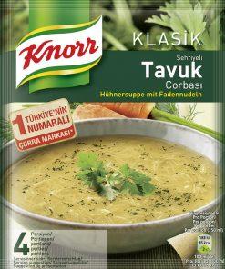 Knorr Hühnersuppe mit Fadennudeln 250g