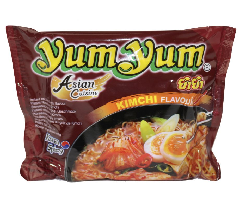 Yum Yum Kimchi Nudelsuppe 60g