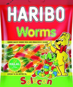 Haribo Worms Halal 100g