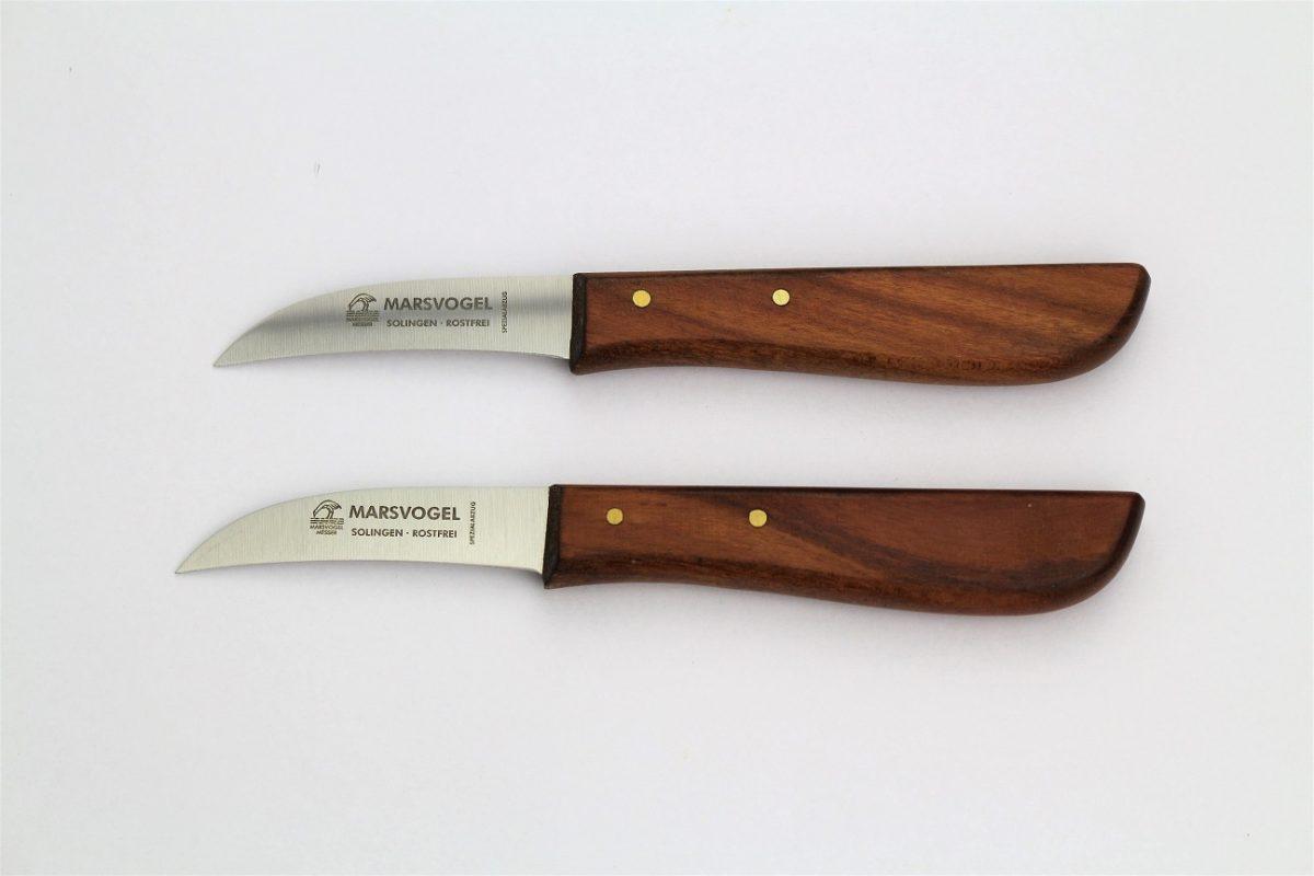 Kirschbaum-Holzgriff Küchenmesser gebogen